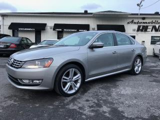 Used 2014 Volkswagen Passat HIGHLINE for sale in St-Hubert, QC
