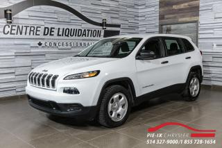 Used 2018 Jeep Cherokee Sport+AWD for sale in Montréal, QC