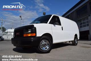 Used 2014 GMC Savana CARGO 3500 ** 4.8L ** Full Rack ** Impeccable ** for sale in Laval, QC