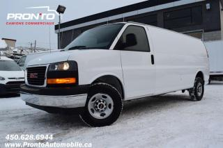 Used 2019 GMC Savana CARGO 2500 ** 4.3L ** Allongé ** Transmission 8 vitesses for sale in Laval, QC