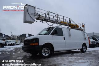 Used 2007 GMC Savana CARGO Allongé Extended ** Nacelle Telelift TTS25 ** for sale in Laval, QC