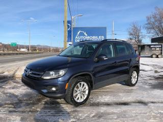 Used 2015 Volkswagen Tiguan COMFORTLINE for sale in Québec, QC