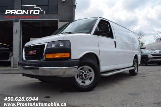 Used 2017 GMC Savana CARGO 2500 ** 4.8L ** Gr. Électrique ** Marche pieds ** for sale in Laval, QC