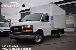 Used 2018 GMC Savana 3500 Cube 12 pieds 6.0L ** Garantie GM ** for sale in Laval, QC