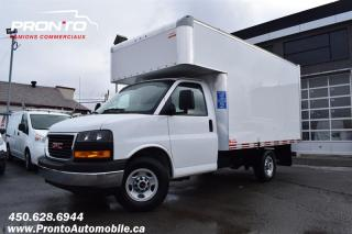 Used 2019 GMC Savana 3500 Cube 12 pieds deck ** 4.3L ** Garantie GM ** for sale in Laval, QC