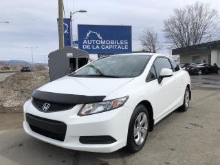 Used 2013 Honda Civic 2013 Honda Civic Coupe - 2dr Man LX for sale in Québec, QC