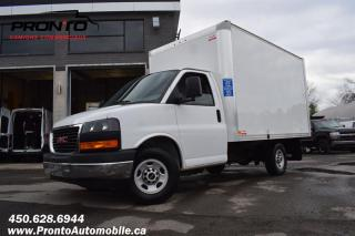 Used 2018 GMC Savana 3500 Cube 12 pieds ** 6.0L Vortec ** for sale in Laval, QC