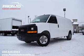 Used 2013 GMC Savana CARGO 3500 4.8L Vortec ** Voir équipement ** for sale in Laval, QC