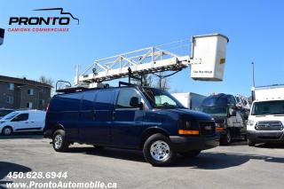 Used 2008 GMC Savana CARGO 3500 **Ext./allongé ** Nacelle TTS25 ** for sale in Laval, QC