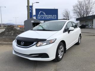 Used 2013 Honda Civic 2013 Honda Civic - 4dr Man LX for sale in Québec, QC