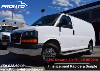 Used 2017 GMC Savana CARGO 2500 Gr. électrique ** Bas kilo ** for sale in Laval, QC