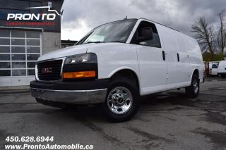 Used 2013 GMC Savana CARGO ** PROPANE & ESSENCE ** 3500 for sale in Laval, QC