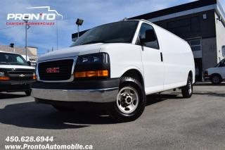 Used 2019 GMC Savana CARGO 2500 ** Allongé / Extended ** for sale in Laval, QC