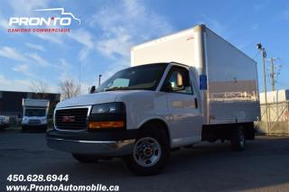 Used 2018 GMC Savana 3500 ** Cube 14 pieds ** 6.0L ** for sale in Laval, QC