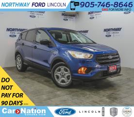 Used 2017 Ford Escape S | KEYLESS ENTRY | BACKUP CAM | BLUETOOTH+USB | for sale in Brantford, ON
