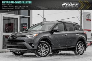 Used 2018 Toyota RAV4 AWD LIMITED for sale in Orangeville, ON