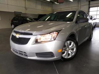Used 2012 Chevrolet Cruze MANUELLE/GROUPE ELECTRIQUE/CD/MP3/PRISE AUX for sale in Blainville, QC
