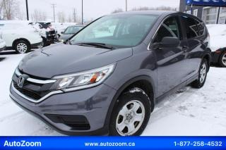 Used 2016 Honda CR-V LX*CAMERA*OUVERT*PROPRE ET SÉCURITAIR for sale in Laval, QC