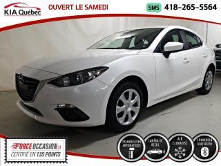Used 2016 Mazda MAZDA3 GX* CAMERA DE RECUL* BLUETOOTH* for sale in Québec, QC