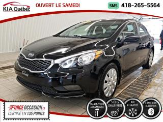 Used 2016 Kia Forte LX+* A/C* SIEGES CHAUFFANTS* BLUETOOTH* for sale in Québec, QC