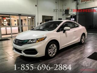 Used 2014 Honda Civic LX + MANUELLE + WOW!! for sale in St-Basile-le-Grand, QC