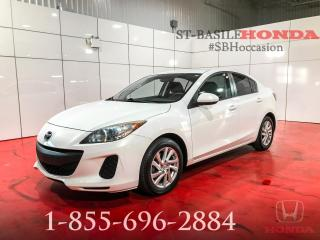 Used 2012 Mazda MAZDA3 Berline GS-SKY + BAS KILO for sale in St-Basile-le-Grand, QC
