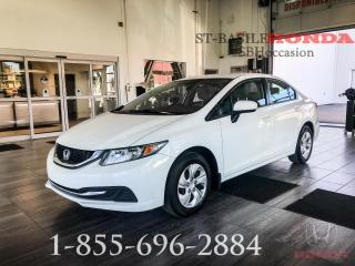 Used 2014 Honda Civic LX + ECO + A/C + WOW!! for sale in St-Basile-le-Grand, QC