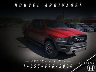 Used 2017 RAM 1500 REBEL + HEMI + TOIT + BLUETOOTH + CREW + for sale in St-Basile-le-Grand, QC