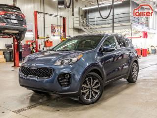 Used 2017 Kia Sportage ****EX TECH+AWD+GPS+CUIR+GARANTIE 10ANS/200,000KM* ****EX TECH+AWD+GPS+CUIR+GARANTIE 10ANS/200,000KM* for sale in Laval, QC