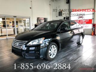 Used 2015 Nissan Sentra SV + BLUETOOTH + CRUISE + BAS KILO! for sale in St-Basile-le-Grand, QC