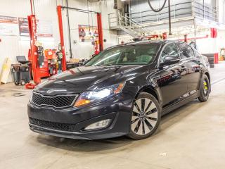 Used 2012 Kia Optima ***SX TURBO+CUIR+TOIT+GPS+BLUETOOTH+A/C+WOW!**** ***SX TURBO+CUIR+TOIT+GPS+BLUETOOTH+A/C+WOW!**** for sale in Laval, QC