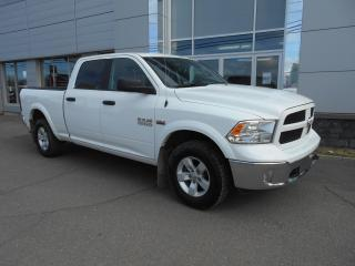 Used 2018 RAM 1500 OUTDOORSMAN CREW CAB 4X4 for sale in Rivière-Du-Loup, QC