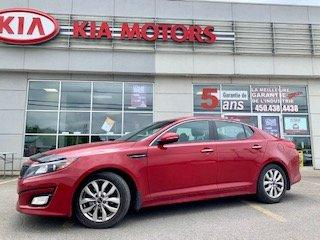 Used 2015 Kia Optima 2015**EX**CUIR**CAMERA RECUL**TEMPERATURE BI-ZONE ICI PAS DE CACHETTE for sale in St-Jérôme, QC