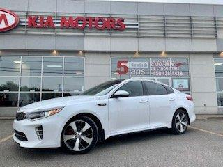 Used 2016 Kia Optima 2016**SX Turbo**CUIR**TOIT PANO**GPS** ICI PAS DE CACHETTE for sale in St-Jérôme, QC
