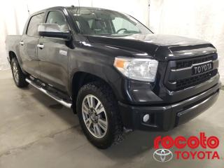Used 2016 Toyota Tundra * Platinum * GPS * CUIR * TOIT OUVRANT * * Platinum * GPS * CUIR * TOIT OUVRANT * for sale in Chicoutimi, QC
