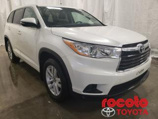 Used 2016 Toyota Highlander * LE * GR ÉLECTRIQUE * MAGS * * LE * GR ÉLECTRIQUE * MAGS * for sale in Chicoutimi, QC