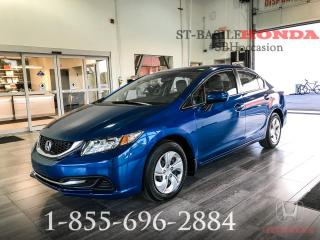Used 2014 Honda Civic LX + BAS KILO + WOW!! for sale in St-Basile-le-Grand, QC