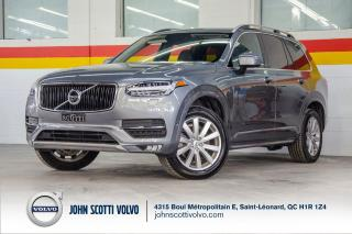 Used 2018 Volvo XC90 Momentum T6 CLIMATE / VISION / CONVENIENCE PACK for sale in St-Léonard, QC