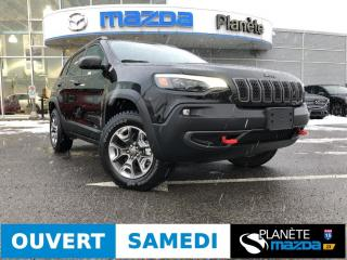 Used 2019 Jeep Cherokee 4X4 2L TURBO AIR CRUISE MAGS CUIR for sale in Mascouche, QC