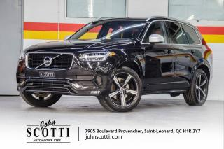Used 2016 Volvo XC90 T6 R-Design 0.9% Certified By Volvo for sale in St-Léonard, QC