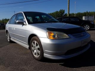 Used 2003 Honda Civic Berline 4 portes LX boîte automatique de for sale in St-Hubert, QC