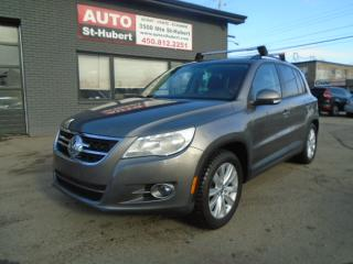 Used 2009 Volkswagen Tiguan 2.0T 4MOTION ** 119 000 KM CERTIFIÉ ** for sale in St-Hubert, QC