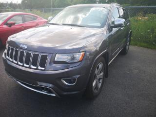 Used 2014 Jeep Grand Cherokee Overland for sale in Sorel-Tracy, QC