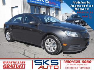 Used 2014 Chevrolet Cruze LT (GARANTIE 2 ANS) FINANCEMENT MAISON for sale in Ste-Rose, QC
