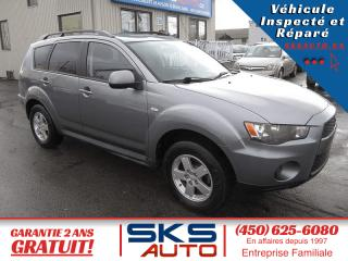 Used 2013 Mitsubishi Outlander AWD (GARANTIE MITSUBISHI 12/2022 ou 1600 for sale in Ste-Rose, QC