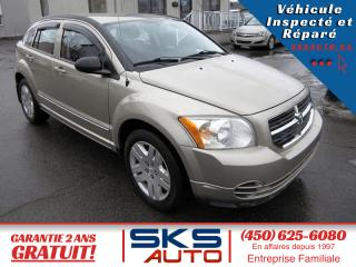 Used 2010 Dodge Caliber 65650 KM (GARANTIE 2 ANS) FINANCEMENT MA for sale in Ste-Rose, QC