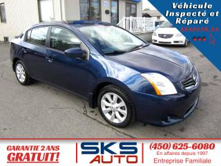 Used 2011 Nissan Sentra (GARANTIE 2 ANS INCLUS) 34971 KM for sale in Ste-Rose, QC