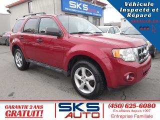 Used 2011 Ford Escape 4x4 (GARANTIE 2 ANS) FINANCEMENT MAISON for sale in Ste-Rose, QC
