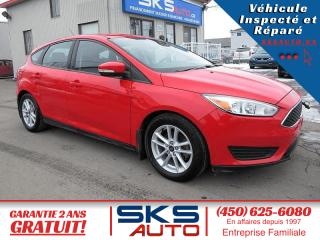Used 2015 Ford Focus SE (GARANTIE 2 ANS INCLUS) for sale in Ste-Rose, QC