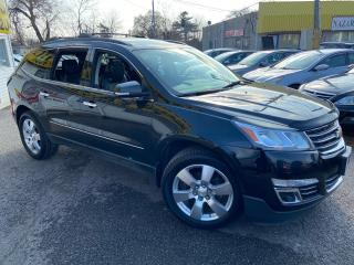 Used 2013 Chevrolet Traverse LTZ/ NAVI/7SEATERS/LEATHER/SUNROOF/ BACK UP CAM for sale in Scarborough, ON